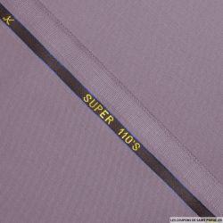 Tissus Super 110 Vitale Barberis mauve