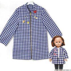 Patron Modes & Travaux - Manteau pour fillette et poupée