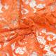 Dentelle festonnée orange