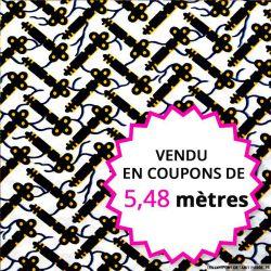 Wax africain enigmes vendu en coupon de 5,48 mètres