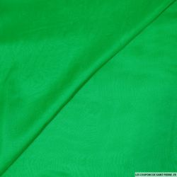 Tissu mousseline de Soie vert gazon