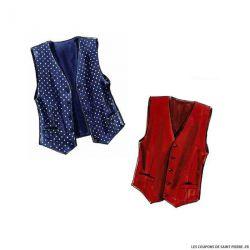 Patron n°3403 : Gilet, accessoiresCOUSU MAIN 2