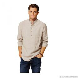 Patron n°7525 : Chemise homme COUSU MAIN 2