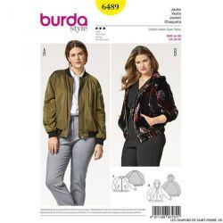 Patron Burda n°6489 : Blouson