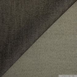 Jean's léger polyester souple élasthane marron