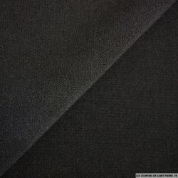 Double Crêpe Polyester noir
