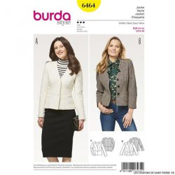 Patron Burda n°6464: Blazer
