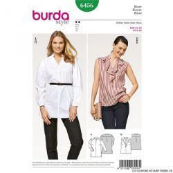 Patron Burda n°6456: Blouse