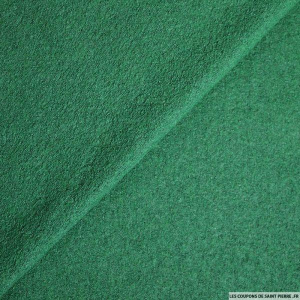 Laine bouillie vert émeraude