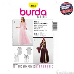 Patron n°2463 : Princesse COUSU MAIN 3