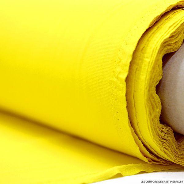Crêpe Cady jaune mimosa