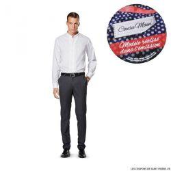 Patron n°6931 : Chemise pour Homme COUSU MAIN 3