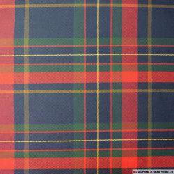Clan écossais rouge,marine et vert