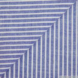 Doublure Acétate-Viscose à Carreaux bleu
