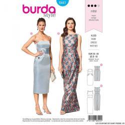 Patron Burda n°6441: Robe à corsage