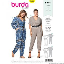 Patron Burda n°6444: Combinaison