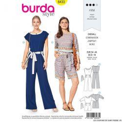 Patron Burda n°6433: Combinaison