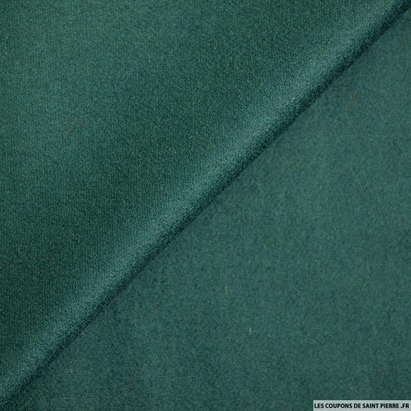Laine et cachemire vert canard - Vert canard couleur ...