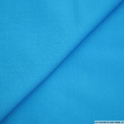 Coton uni Bleu Roy