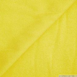 Crêpe viscose jaune