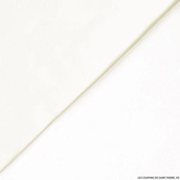 Soie sauvage / Doupion de soie blanc cassé