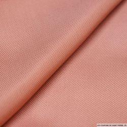 100% Soie nattée souple rose blush