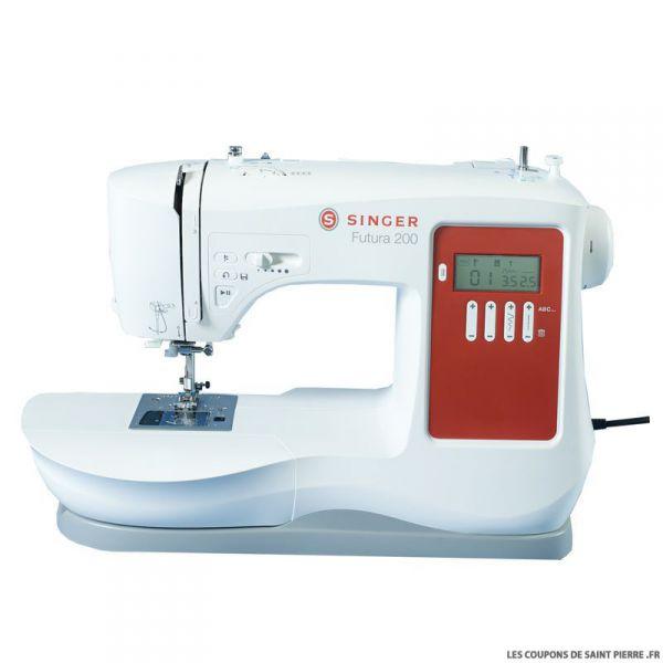 Machine à coudre éléctronique Futura 200