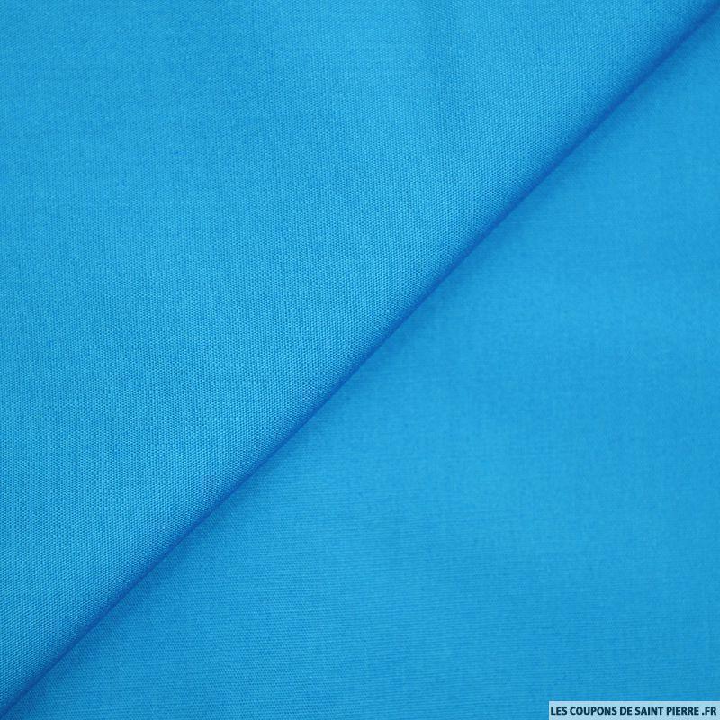 coton uni turquoise 50x45cm coupons de saint pierre. Black Bedroom Furniture Sets. Home Design Ideas