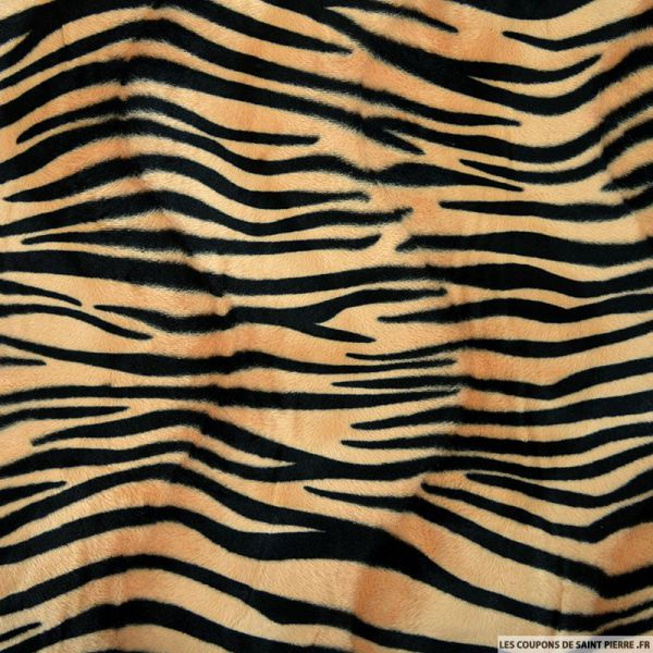 Fourrure Synthétique tigre