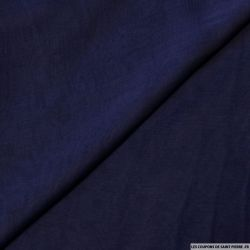 Mousseline de Soie changeant noir marine