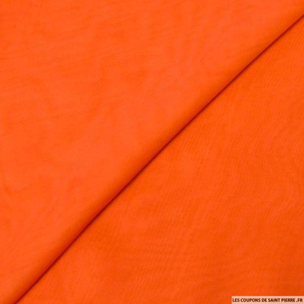 Mousseline de Soie orange