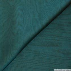 Mousseline de Soie changeant marron et vert canard