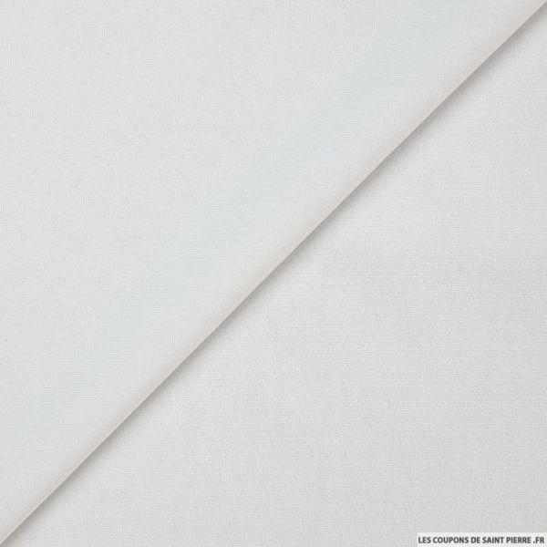Maille maillot de bain blanc