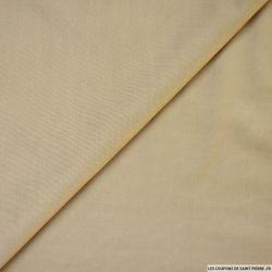 Maille maillot de bain beige
