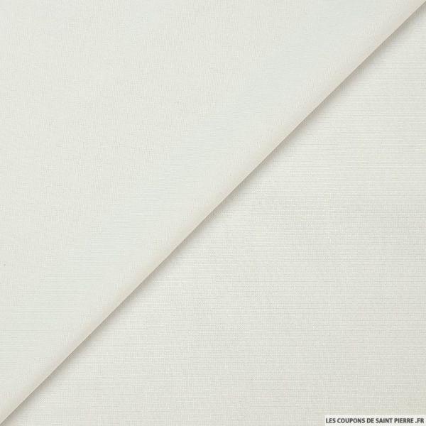 Maille maillot de bain blanc cassé