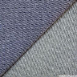 Jean's coton polyester fin bleu clair