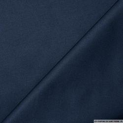 Satin de Coton bleu nuit