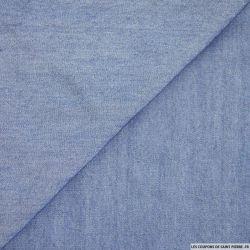 Tissu Tencel Bleu Jean's