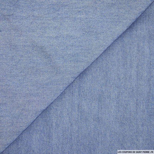 Tencel jeans bleu moyen