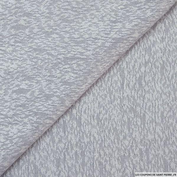 tissu jacquard viscose brume bleu. Black Bedroom Furniture Sets. Home Design Ideas