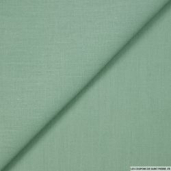 Voile de coton jade