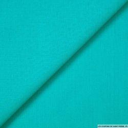 Voile de coton turquoise