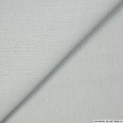 Voile de coton gris perle