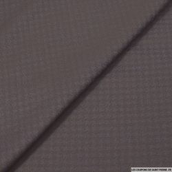 Pied de coq jacquard violet