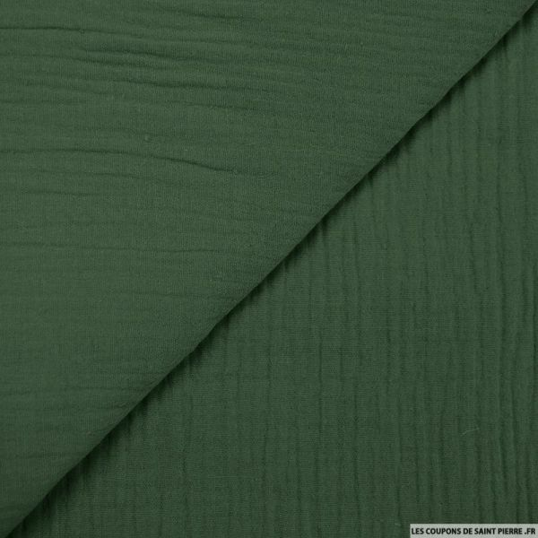 Double gaze vert sapin