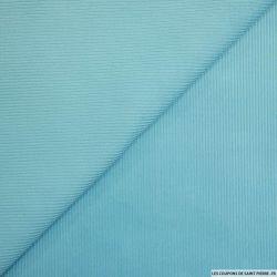Velours côtelé bleu ciel