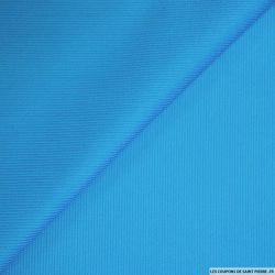 Velours côtelé turquoise