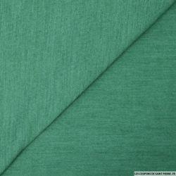 Etamine de laine vert