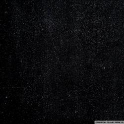 Panne de velours noir