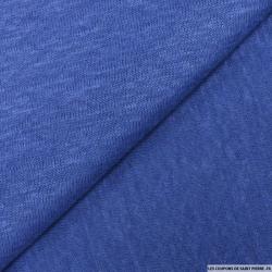 Maille 100% lin bleu égyptien